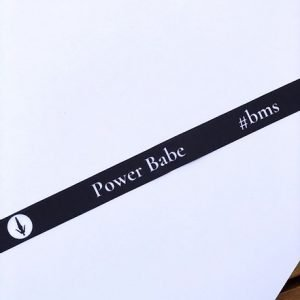 """Power Babe"" Wrist Band"